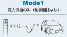 MODE1:電力供給のみ(制御回路なし)